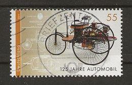 125 Ans De L'automobile - Used Stamps