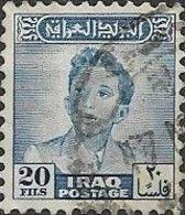 IRAQ 1948 King Faisal II - 20f - Blue FU - Iraq
