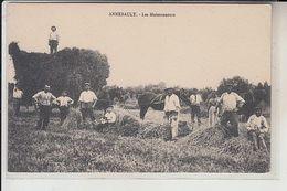14  - ANNEBAULT -   LES  MOISSONNEURS - Francia