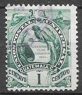 Timbre De 1900 - 02 : N°105 Chez YT. (Voir Commentaires) - Guatemala