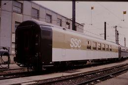 Photo Diapo Diapositive Slide Train Wagon Voiture SNCF SSC Spéciale Séminaire Conférence Le 19/07/2000 VOIR ZOOM - Diapositives (slides)