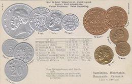 Rumänische Münzen - Super Prägekarte     (A-224-200204) - Münzen (Abb.)