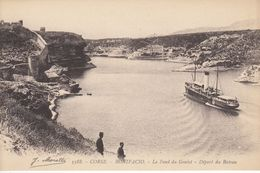 BONIFACIO (Corse Du Sud): Le Fond Du Goulet - Départ Du Bateau - Autres Communes