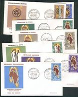 Afrika 7 Letters Covers Briefe Wirtschaftsbund Europa-Afrika, Association Economique - Africa (Varia)