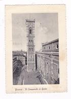 Jolie CPM Florence, Italie; Le Campanile De Giotto. A Voyagé En 1956 - Firenze (Florence)