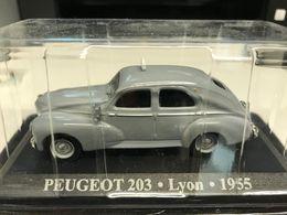 PEUGEOT 203 TAXI LYON 1955 - 1/43 - TB ETAT SOUS BLISTER - Automobili