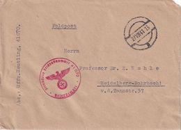 ALLEMAGNE 1941 LETTRE EN FELDPOST POUR HEIDELBERG - Deutschland