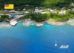 Niue Island Alofi Port New Postcard - Postcards