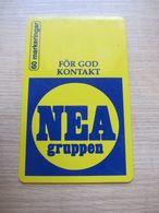 60 Markeringar Chip Phonecard,NEA Gruppen, 3400 Pieces,used - Zweden