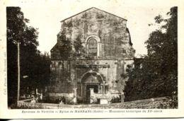 N°4 R -cpa église De Marnans -monument Historique Du XI Siècle- - Autres Communes