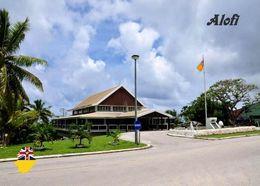 Niue Island Alofi Government Building New Postcard - Postkaarten