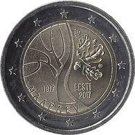 2E241 - ESTONIE - 2 Euros Commémorative - Indépendance 2017 - Estonie
