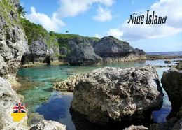 Niue Island Limestones South Pacific New Postcard - Postkaarten