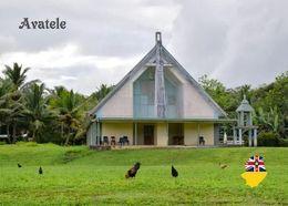 Niue Island Avatele Church New Postcard - Eglises Et Cathédrales