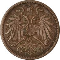 Monnaie, Autriche, Franz Joseph I, 2 Heller, 1912, TTB, Bronze, KM:2801 - Austria