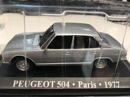 PEUGEOT 504 TAXI PARIS 1977 - 1/43 - TB ETAT SOUS BLISTER - Automobili