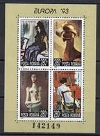 Roumanie - Rumänien - Romania Bloc Feuillet 1993 Y&T N°BF228 - Michel N°B282 *** - EUROPA - Blocchi & Foglietti