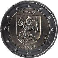 2E243 - LETTONIE - 2 Euros Commémorative - Latgale 2017 - Lettonie