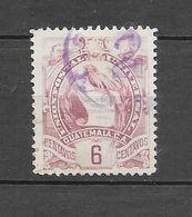 Timbre De 1897 - 94 : N°48 Chez YT. (Voir Commentaires) - Guatemala
