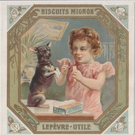 Chromo Bisctuits Mignon LU Lefèvre Utile - Lu