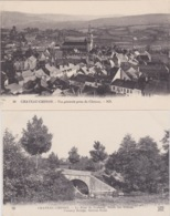 58 - CHATEAU-CHINON - 2 CARTES EN BON ETAT - Chateau Chinon