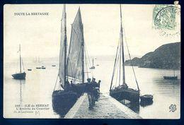 Cpa Du 22 Ile De Bréhat  -- L' Arrivée Du Courrier    AVR20-135 - Ile De Bréhat
