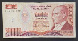 FD0513 - Turkey 20000 Lira Banknote - Turkey