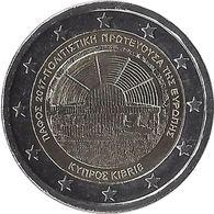 2E244 - CHYPRE - 2 Euros Commémorative - Paphos 2017 - Lettonie