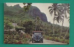 OCÉANIE -  TAHITI - AUTOBUS CITROËN À MOORÉA - Tahiti