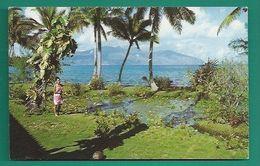 OCÉANIE -  TAHITI - MATAIA - À LA PRESQU'ÎLE - VAHINÉ - Tahiti