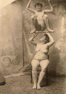 Photo De Nu Sur Carton - Bellezza Femminile Di Una Volta < 1920