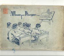 ALBUM  DA DISEGNO-- NUOVO----I  ELEMENTARE  TIMBRO  IDENTIFICARE DAVANTI  ANNI  1914-17 - Technical Plans