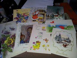 1 Boite De CARTES DE VOEUX ( Anniversaire, Fêtes, Noel, Nouvel An....) + De 220 Pièces - Postcards