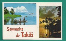 OCÉANIE -  TAHITI - SOUVENIRS - L'ACCUEIL....AVANT L'ATTERRISSAGE... - Tahiti