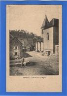 70 HAUTE SAONE - OISELAY L'Abreuvoir Et L'Eglise (voir La Description) - Autres Communes