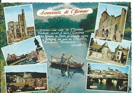 SOUVENIR DE L' YONNE ........MULTI-VUES - Gruss Aus.../ Gruesse Aus...