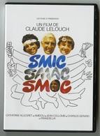 """{42009}  DVD """" Smic Smac Smoc """" Allegret Lai Gerard Collomb Amidou , Réalisation Lelouch  . """" En Baisse """" - Non Classés"""
