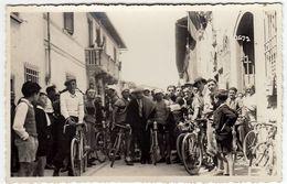 FOTOGRAFIA - CICLISMO - GARA CICLISTICA - 1933 - FOTO FIORENZA - FIRENZE - LUOGO DA CLASSIFICARE - Vedi Retro - Cyclisme