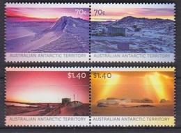 AAT, TP N° 225 à 228 (Paysages Avec Différentes Lumières), Neufs ** - Territoire Antarctique Australien (AAT)