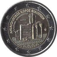 2E248 - GRECE - 2 Euros Commémorative - Filipos 2017 - Grecia