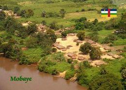 Central African Republic Mobaye Overview New Postcard Zentralafrikanische Republik AK - República Centroafricana
