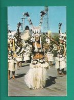 OCÉANIE -  TAHITI - LES FÊTES DE JUILLET 1970 - DANSEUSES ET DANSEURS DU GROUPE VAINQUEUR TAMAEVA - Tahiti