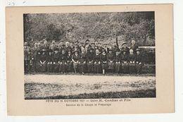 FOUGERES - FETE DU 10 OCTOBRE 1921 - USINE H. CORDIER ET FILS - SERVICE DE LA COUPE ET PREPARAGE - 35 - Fougeres