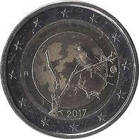 2E249 - FINLANDE - 2 Euros Commémorative - Nature 2017 - Grèce