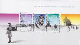 AAT, Bloc N° 10 (centenaire De La Naissance De P. Law), Neufs ** - Territoire Antarctique Australien (AAT)
