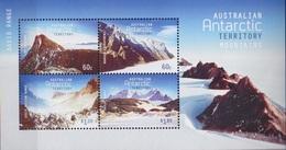 AAT, Bloc N° 12 (Montagnes De L'Antarctique), Neufs ** - Territorio Antártico Australiano (AAT)
