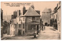 CPA 35 - FOUGERES (Ille Et Vilaine) - Rue De La Fourchette Et Rue Pinterie - Fougeres