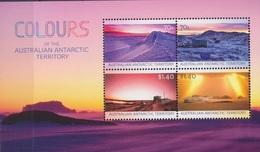 AAT, Bloc N° 16 (Paysages De L'Antarctique Sous Différentes Lumières), Neufs ** - Territoire Antarctique Australien (AAT)