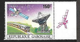 GABON-République Gabonaise-PA 270** - 150 F - Philexafrique Développement Poste Aérienne - Gabon (1960-...)