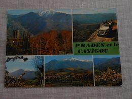 Prades Et Le Canigou  -  Multivues De 1977   St Michel De Cuxa, Prades, Canigou, Eus - Prades